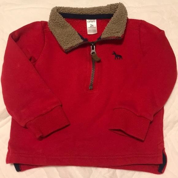 Carter's Other - Carter's half zip pullover